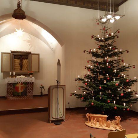 Weihnachtsgottesdienst am 24.12.2020 aus Pahlen